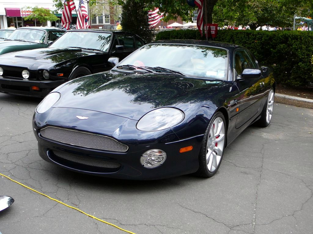 Aston Martin Db7 Photos, Informations, Articles
