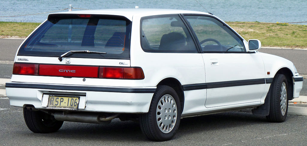 1991 Honda Civic #6