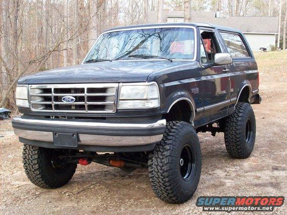 1992 Ford Bronco #10