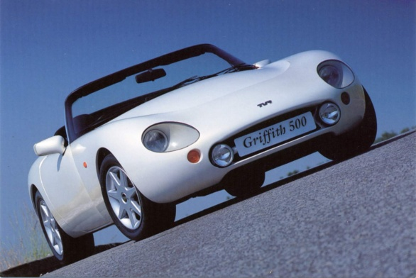 2001 TVR Griffith #8