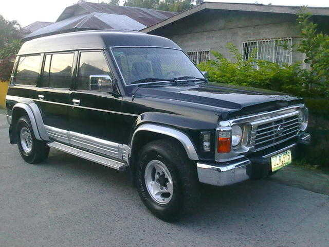 Nissan Safari Patrol Local Manual X New Tires Dual Aircon With Cooler Box
