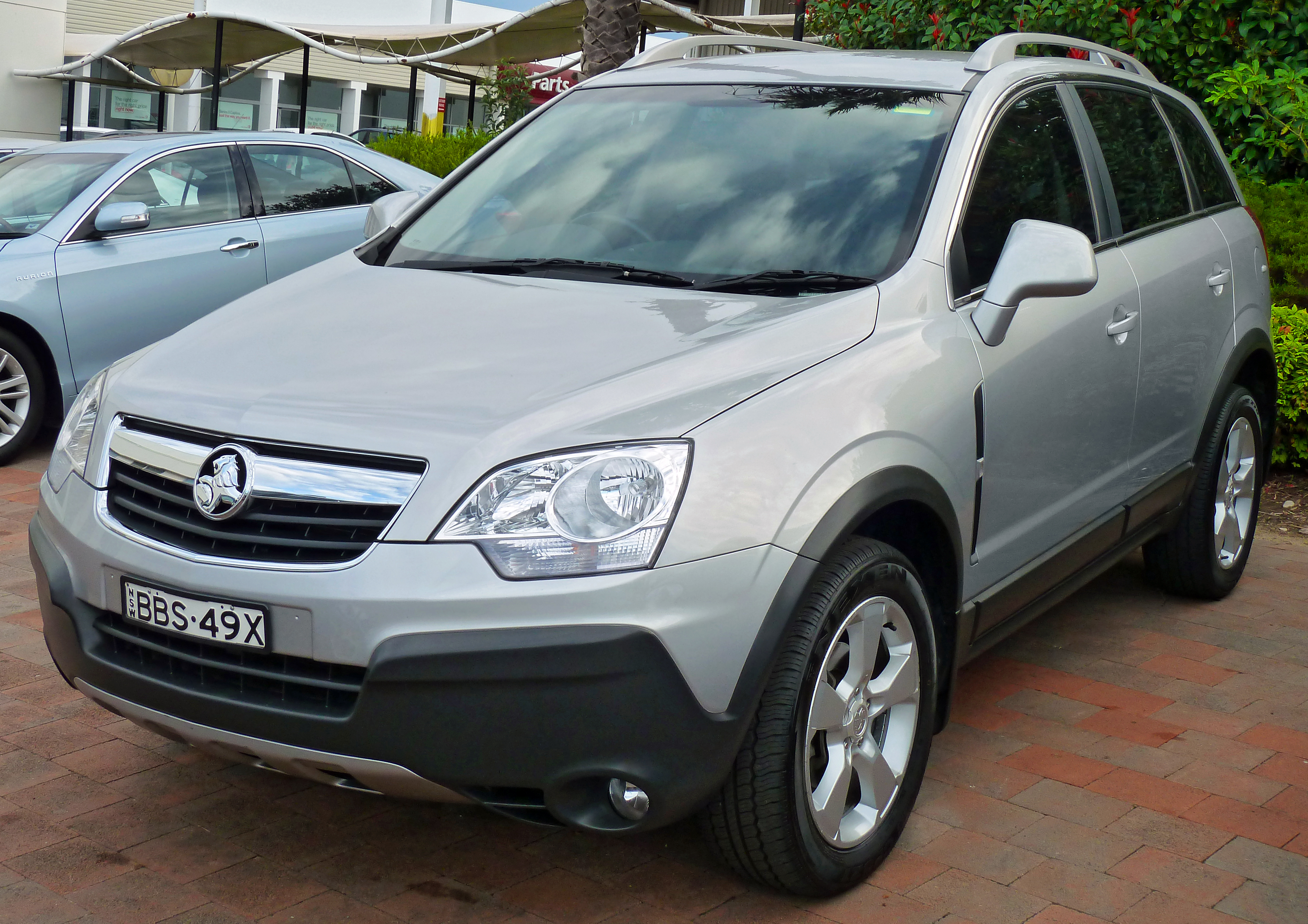 2007 Holden Captiva #8
