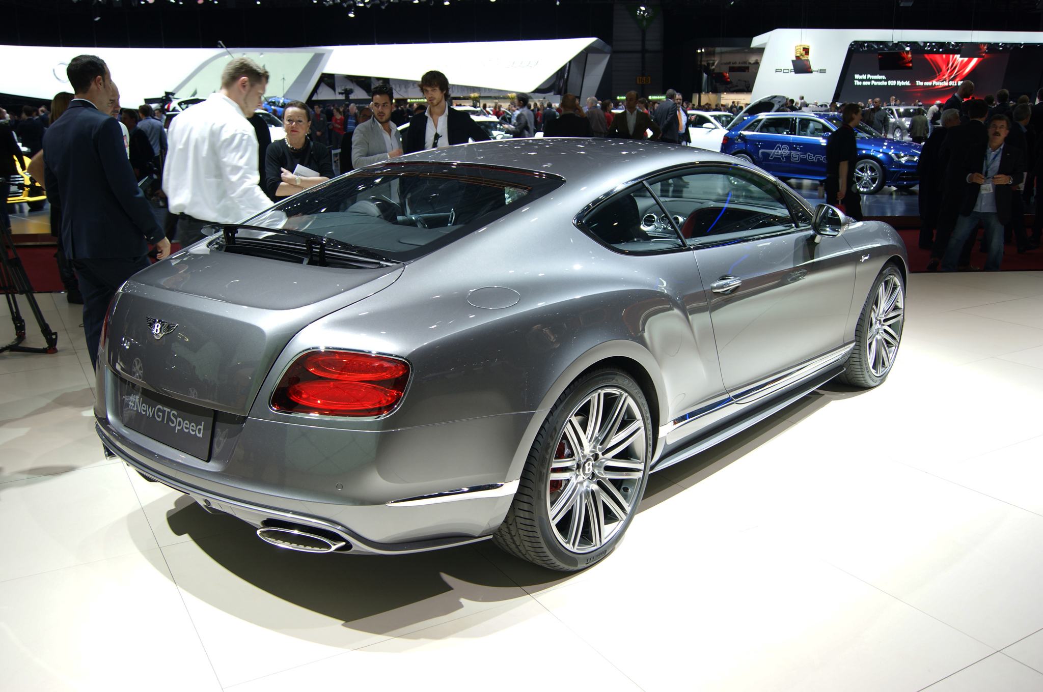 2015 Bentley Continental Gt #5