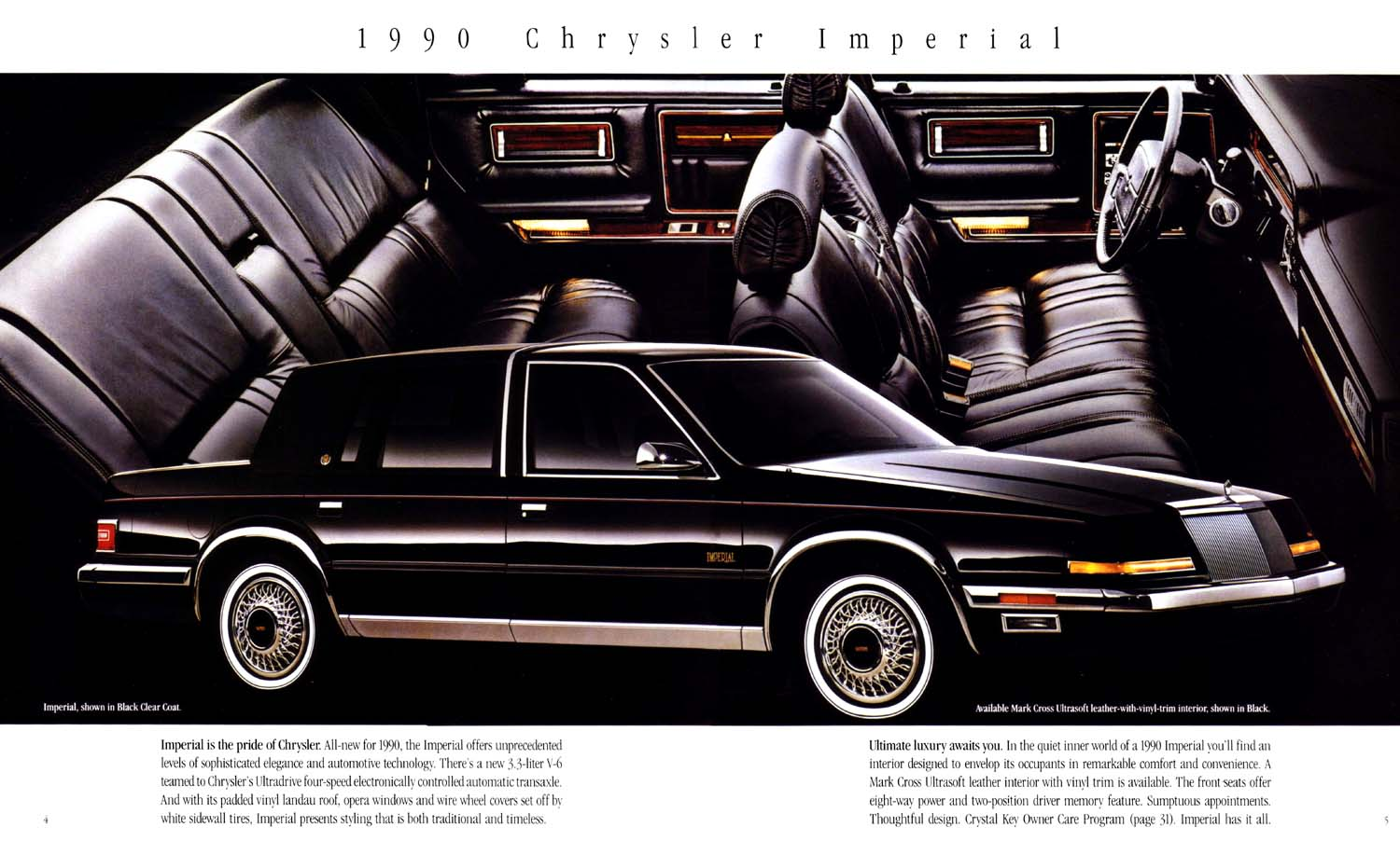 1990 Chrysler Imperial #6