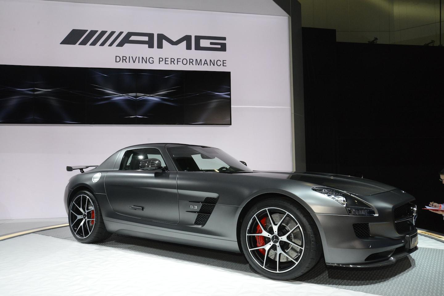 2015 Mercedes-Benz Sls Amg Gt Final Edition #8