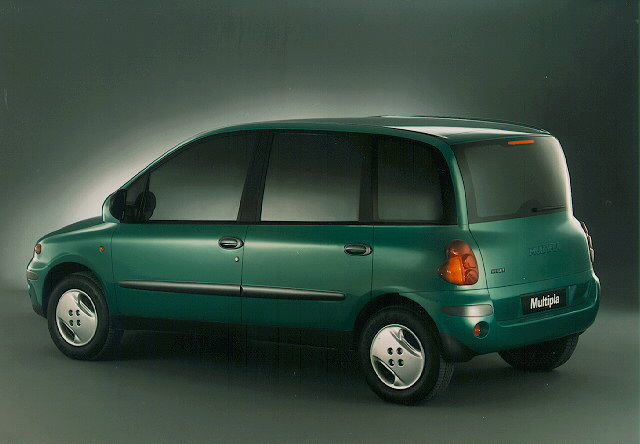 1996 fiat multipla photos informations articles for Interieur fiat multipla