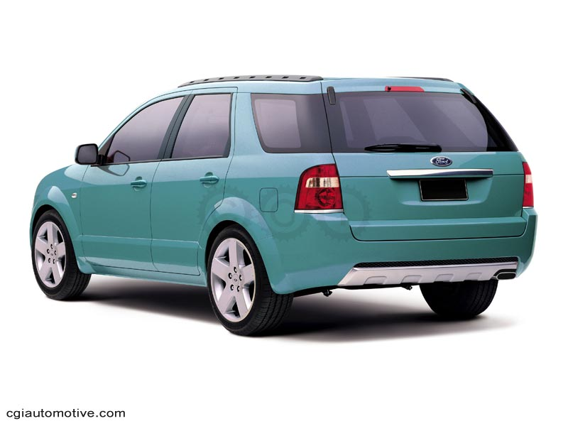 2006 Ford Territory #14