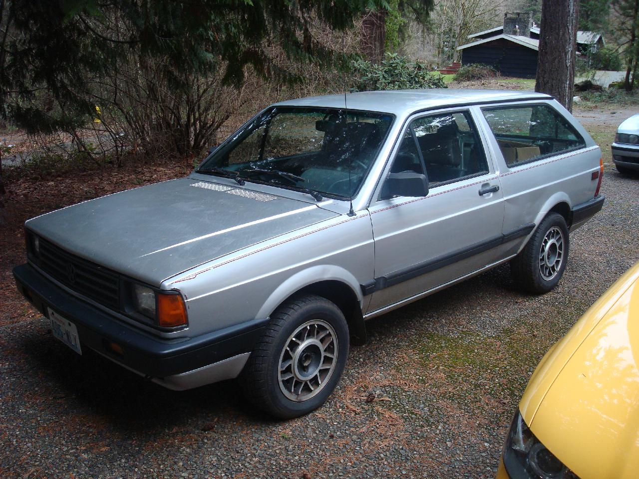 1990 Volkswagen Fox #6
