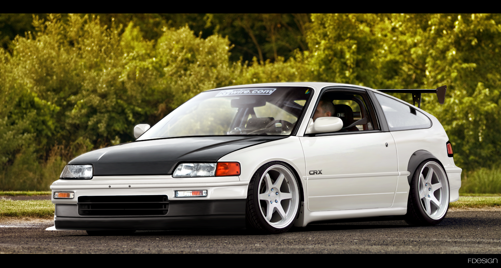 Honda Civic Crx #9