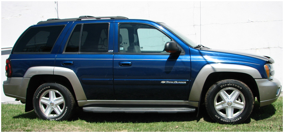 2002 Chevrolet Trailblazer #15