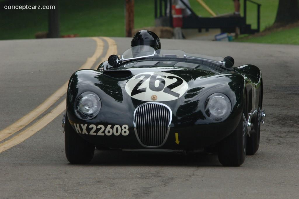 1953 Jaguar C-Type #14