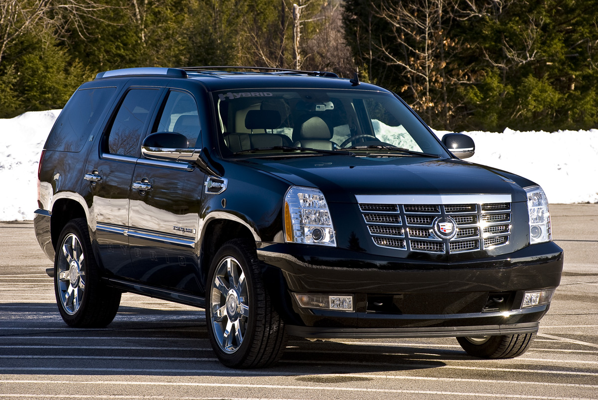 2009 cadillac escalade hybrid photos informations articles. Black Bedroom Furniture Sets. Home Design Ideas