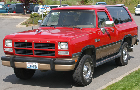 1991 Dodge Ramcharger #3
