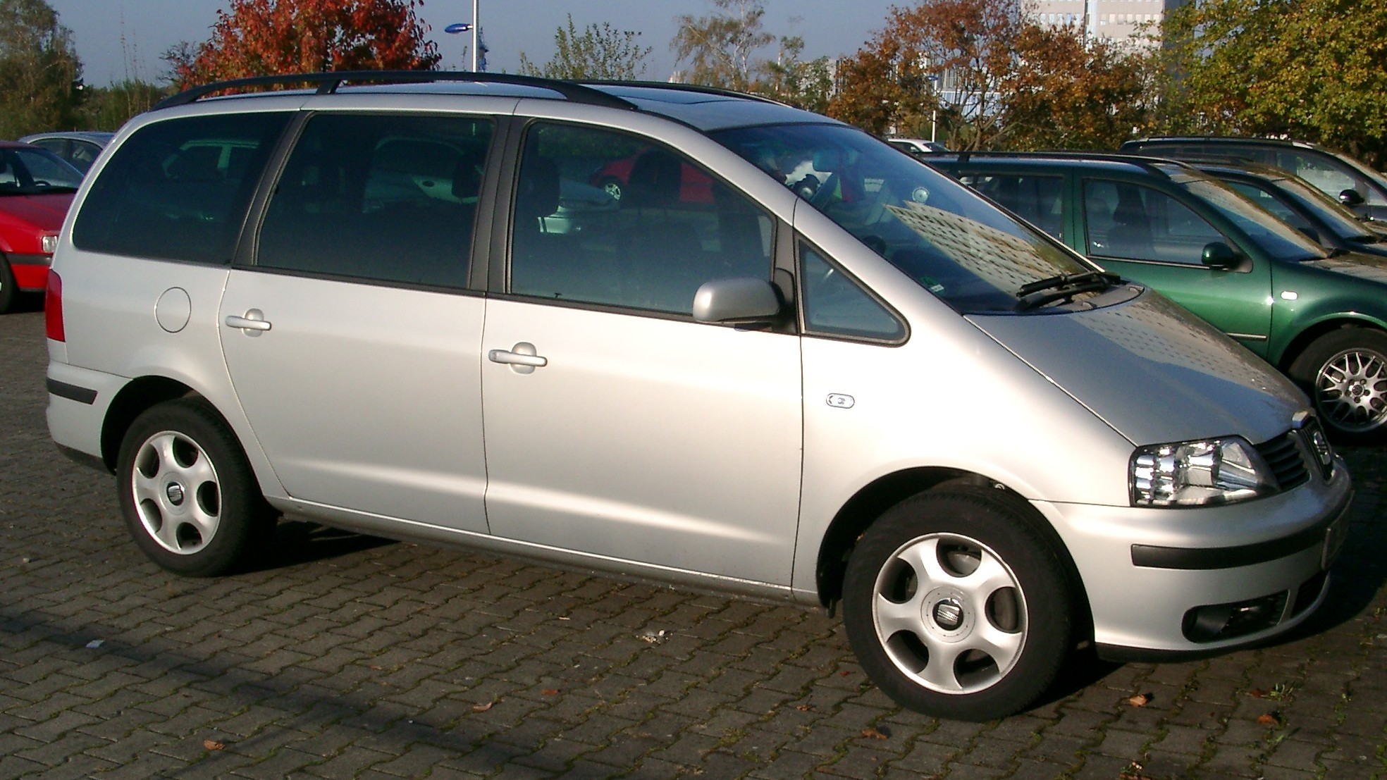 2007 seat alhambra photos informations articles. Black Bedroom Furniture Sets. Home Design Ideas