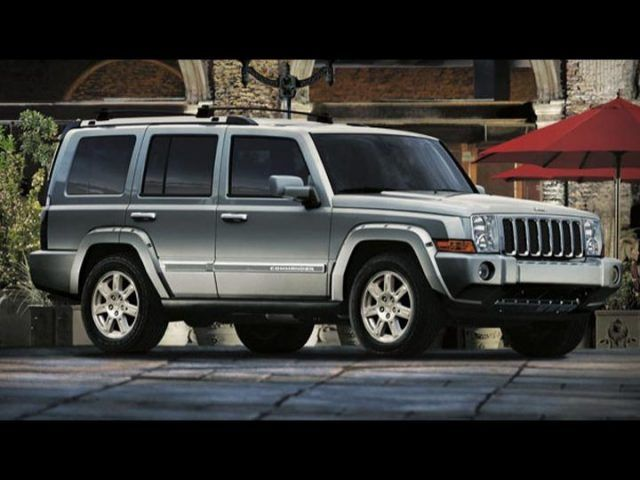 2008 Jeep Commander #10