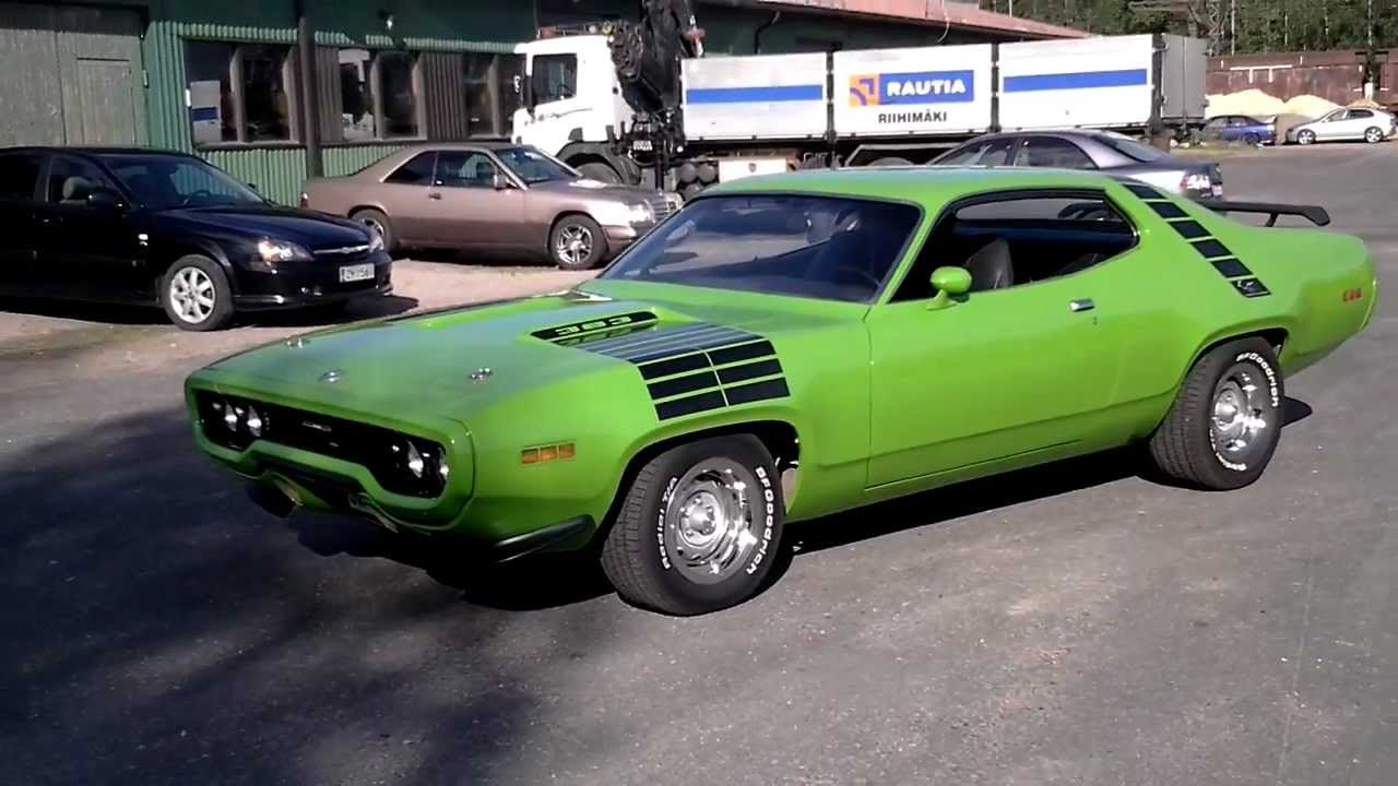 1971 Plymouth Road Runner #11