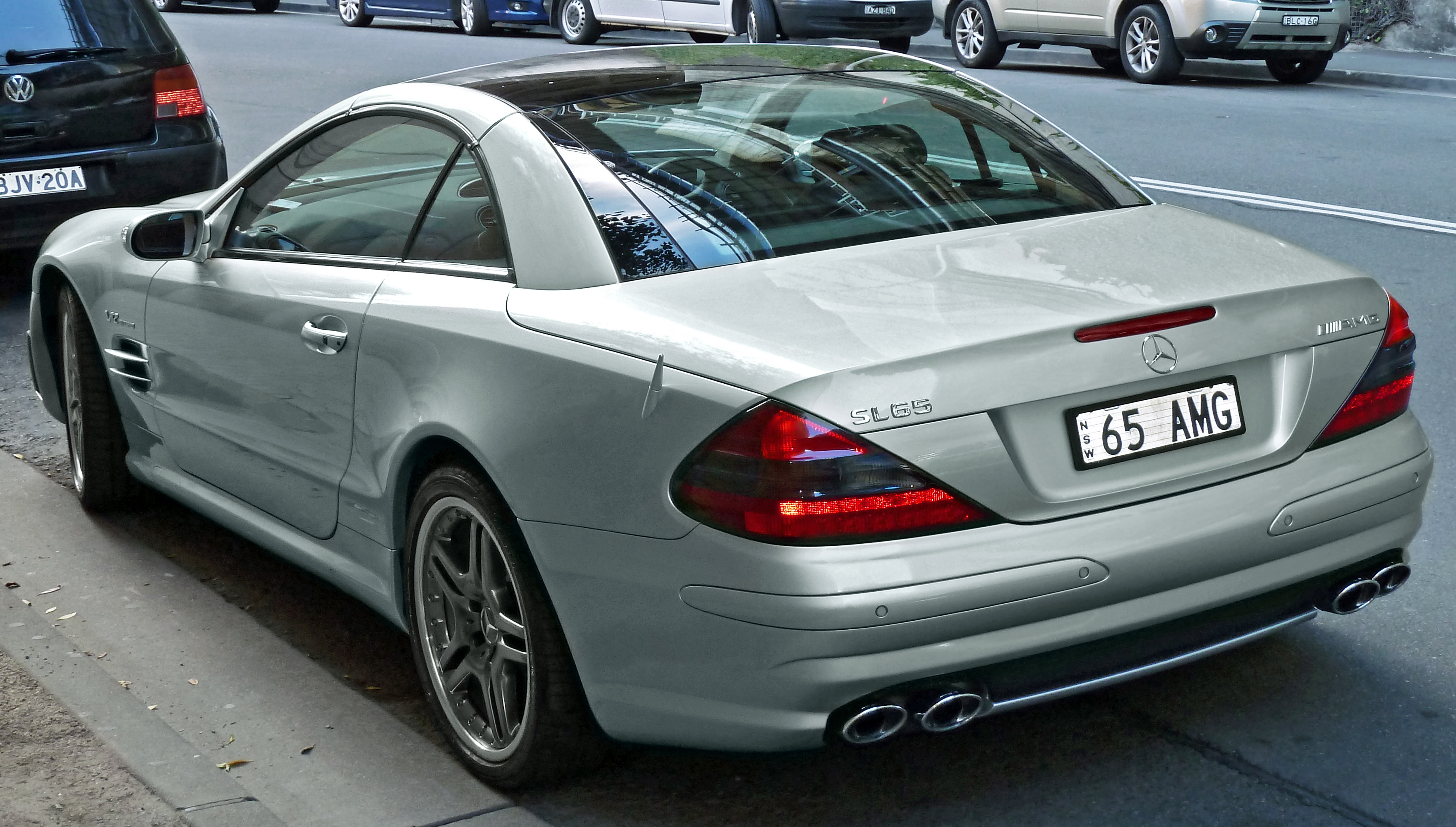 2004 Mercedes-Benz SL #5