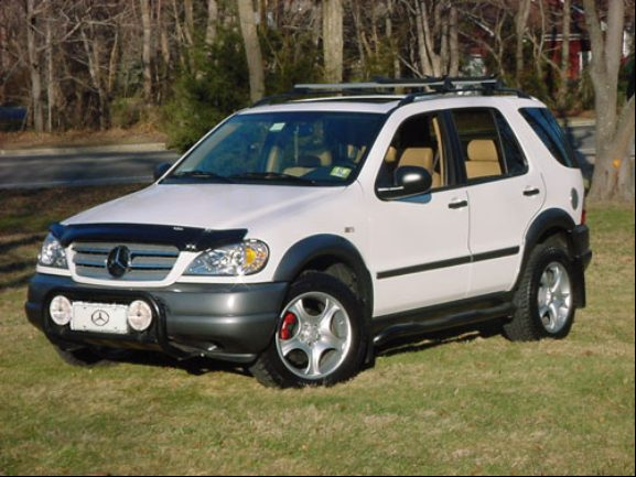 1998 mercedes benz ml photos informations articles for Mercedes benz ml320 suv