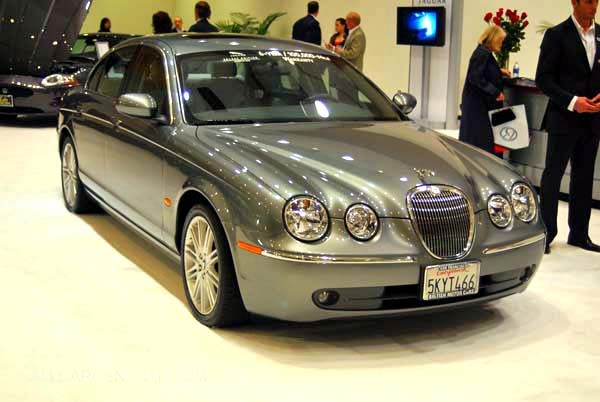 2008 Jaguar S-type #13