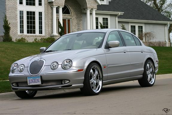 2000 Jaguar S-type #8