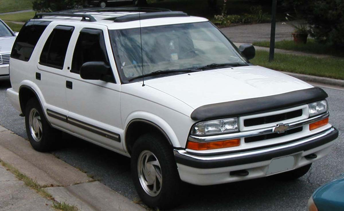 Chevrolet S-10 Blazer Photos, Informations, Articles ...