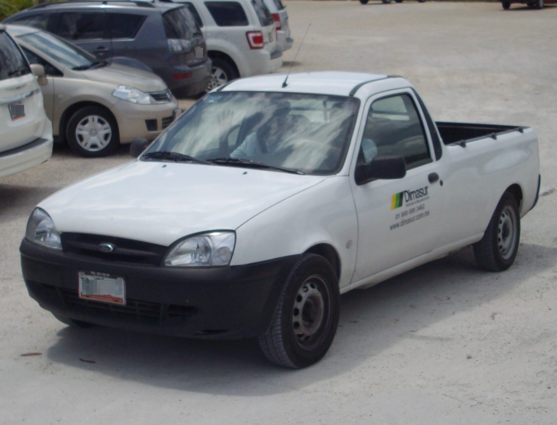 1991 Ford Courier #9