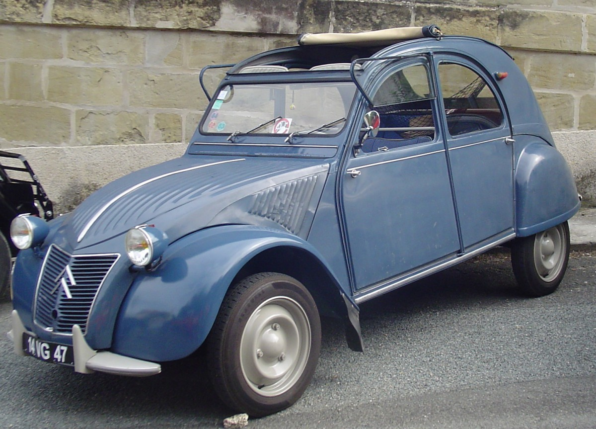 1948 citroen 2cv photos informations articles. Black Bedroom Furniture Sets. Home Design Ideas