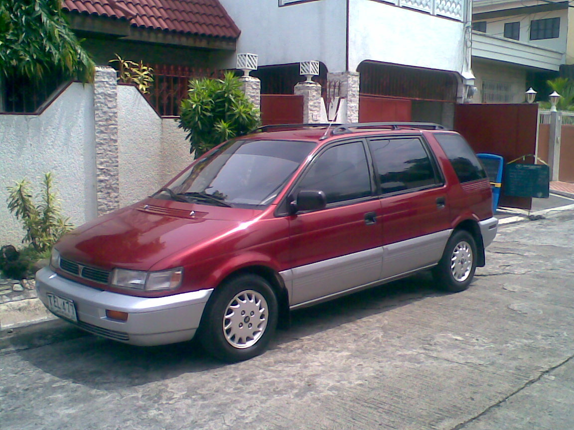 1996 Mitsubishi Space Wagon #4