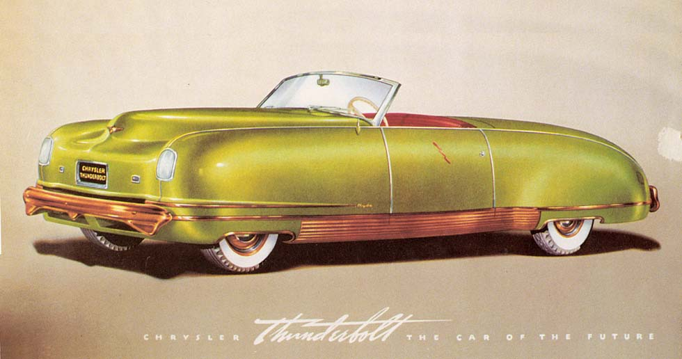 1941 Chrysler Thunderbolt Photos Informations Articles