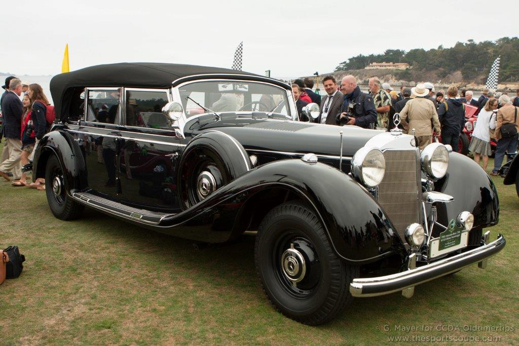 1941 mercedes benz 770 photos informations articles for Is mercedes benz a reliable car