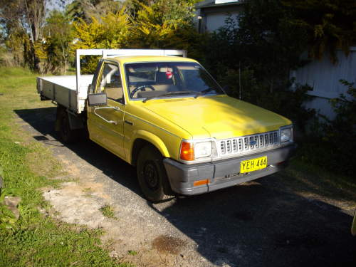 1989 Ford Courier #2