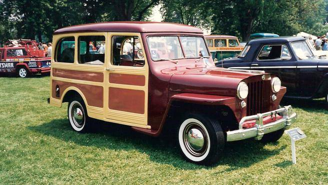 1948 Jeep Station Wagon #13