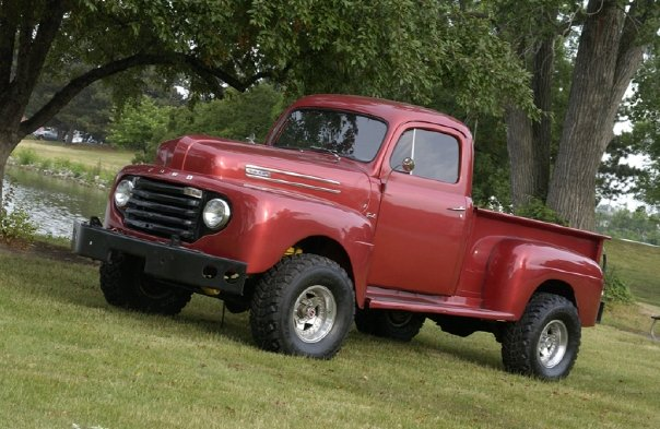1950 Ford F #18