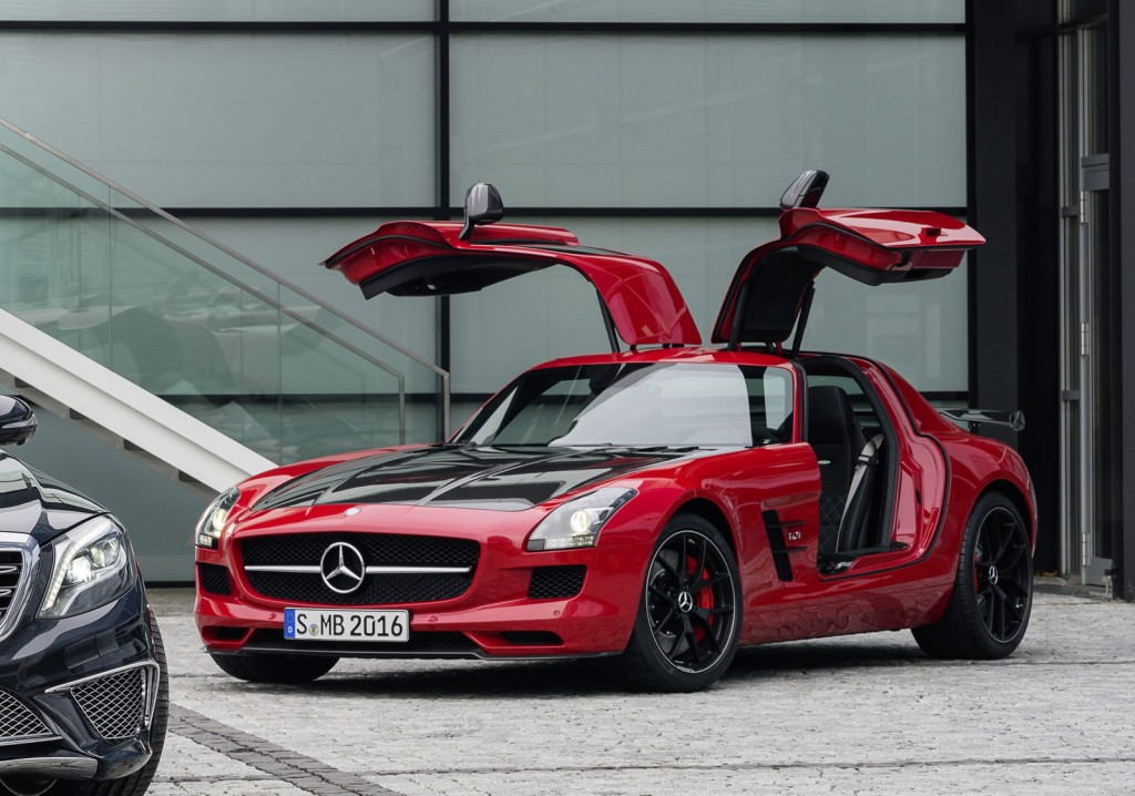 2015 Mercedes-Benz Sls Amg Gt Final Edition #1