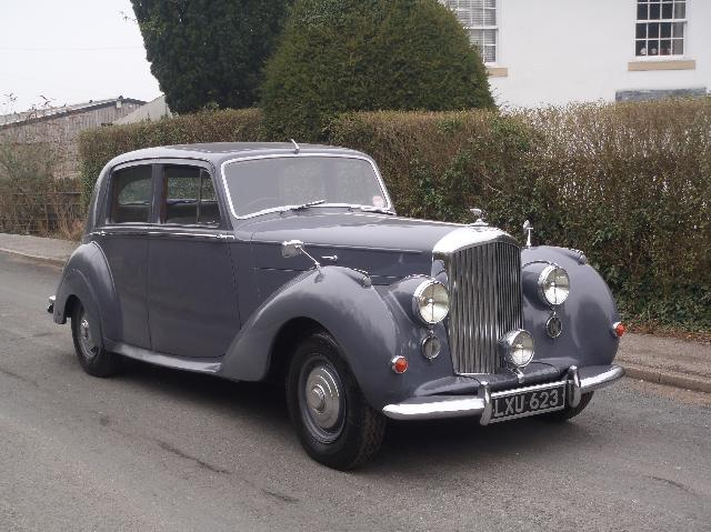 1951 Bentley Mark VI #16