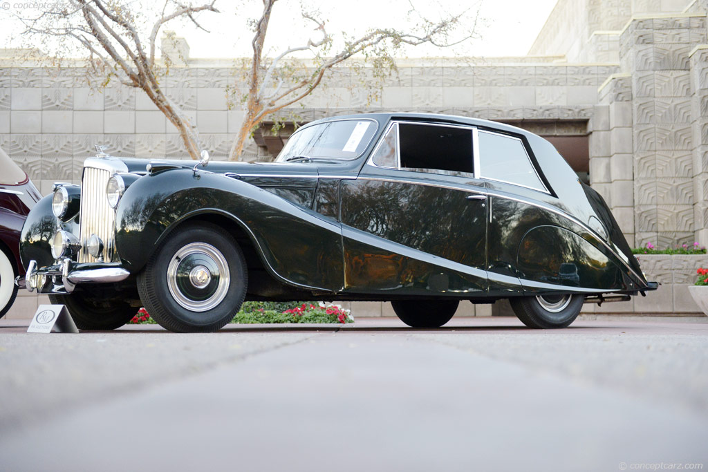 1951 Bentley Mark VI #17