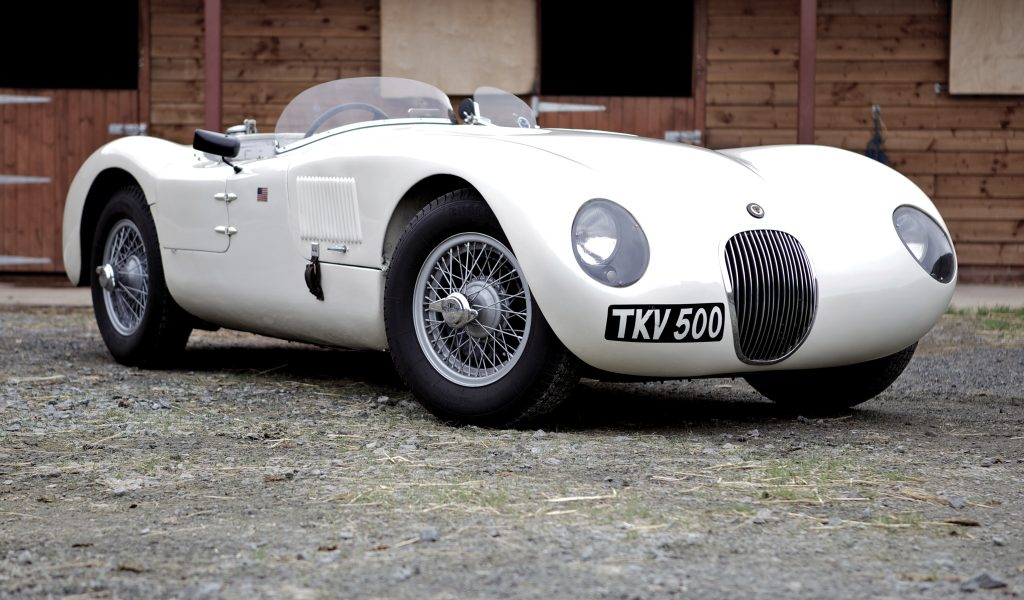 1951 Jaguar C-Type #19