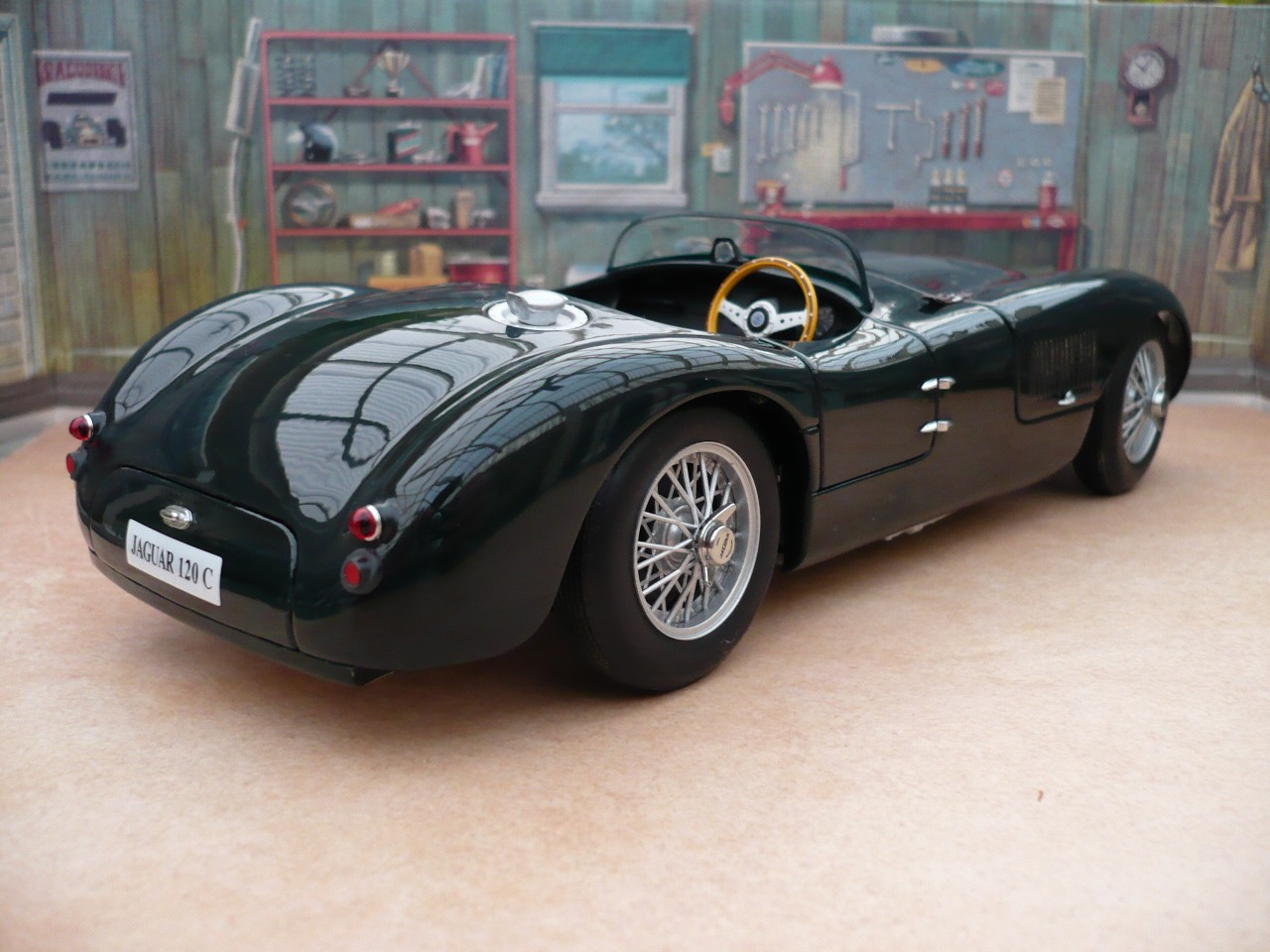 1951 Jaguar Type-C #17