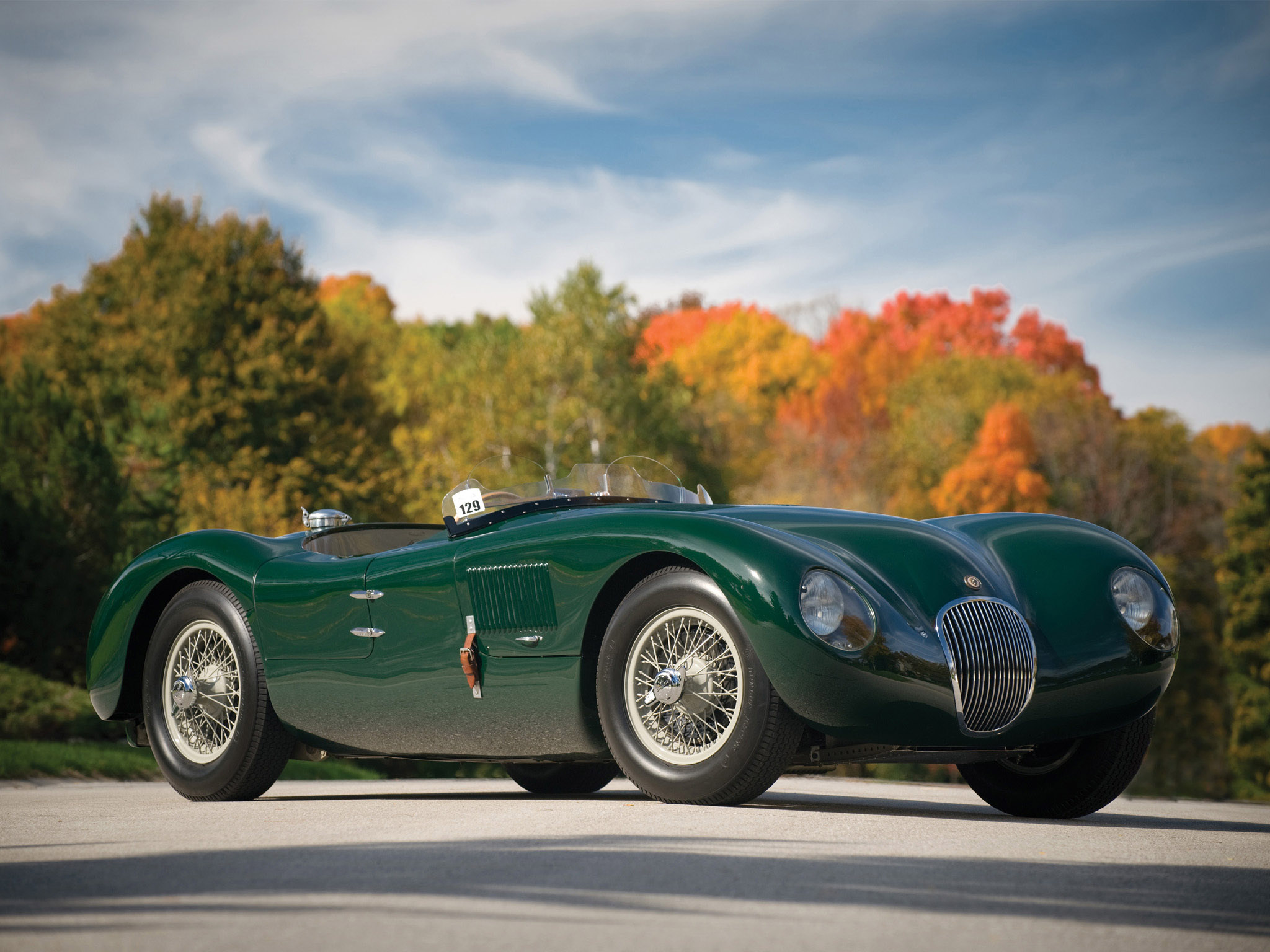 1951 Jaguar Type-C #19