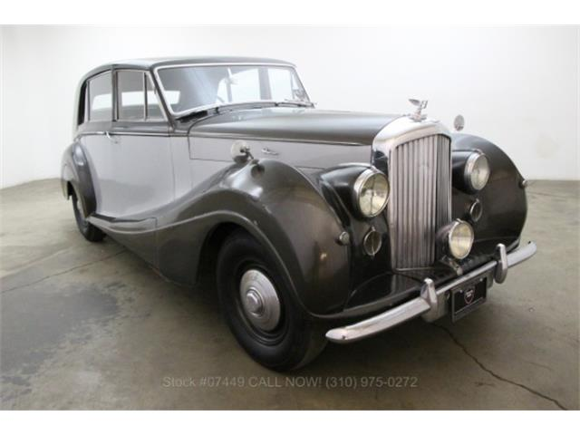 1952 Bentley Mark VI #21