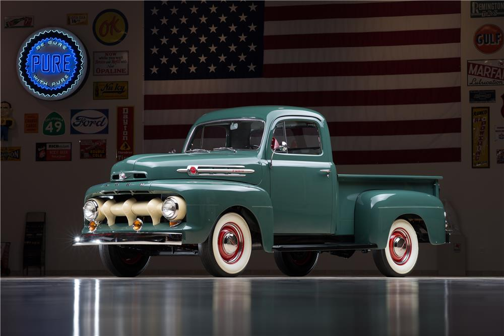 1952 Ford F #18