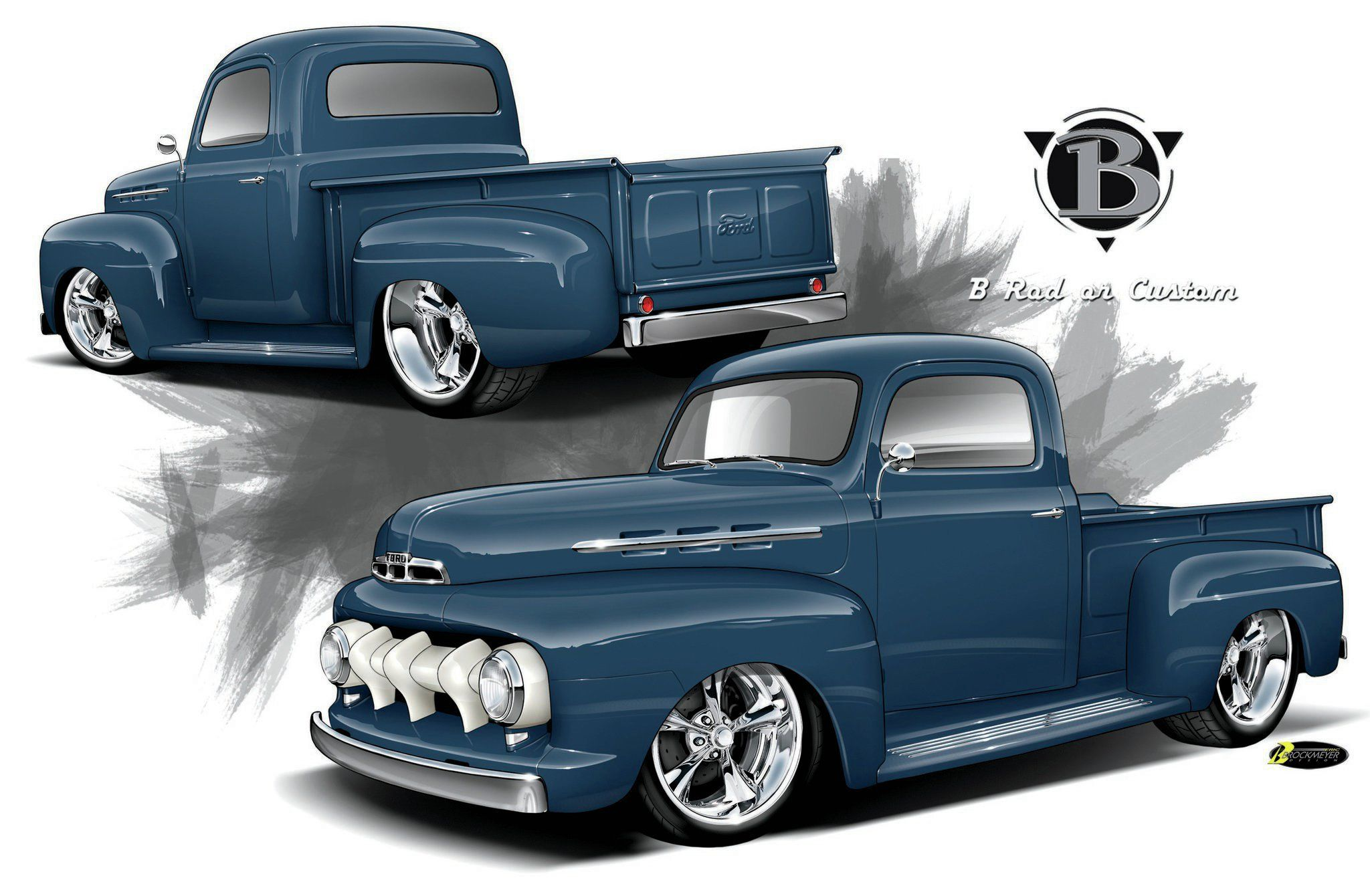 1952 Ford F #19