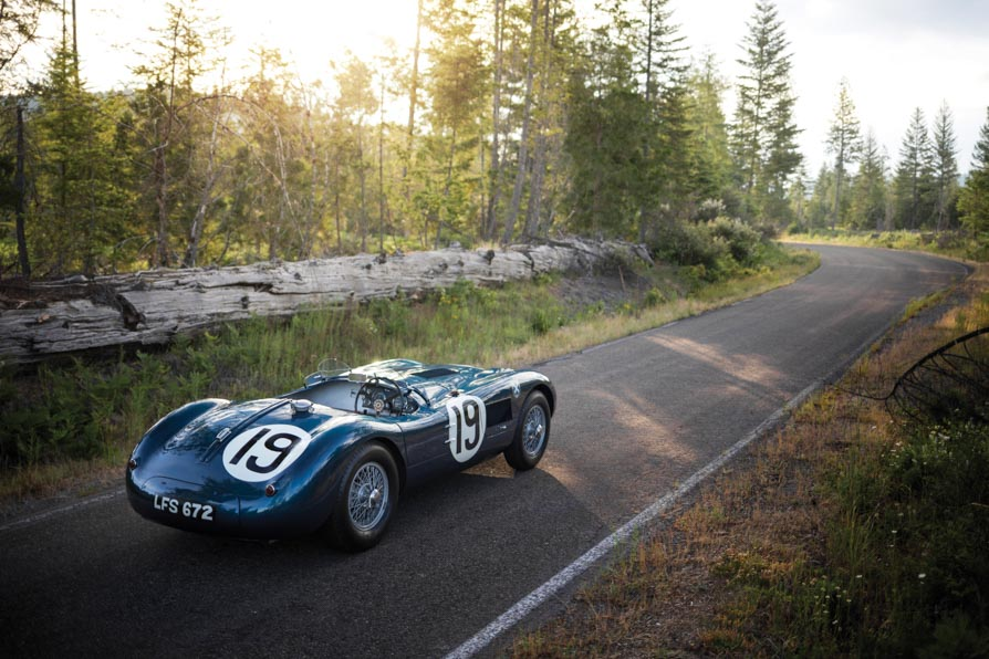 1953 Jaguar C-Type #23
