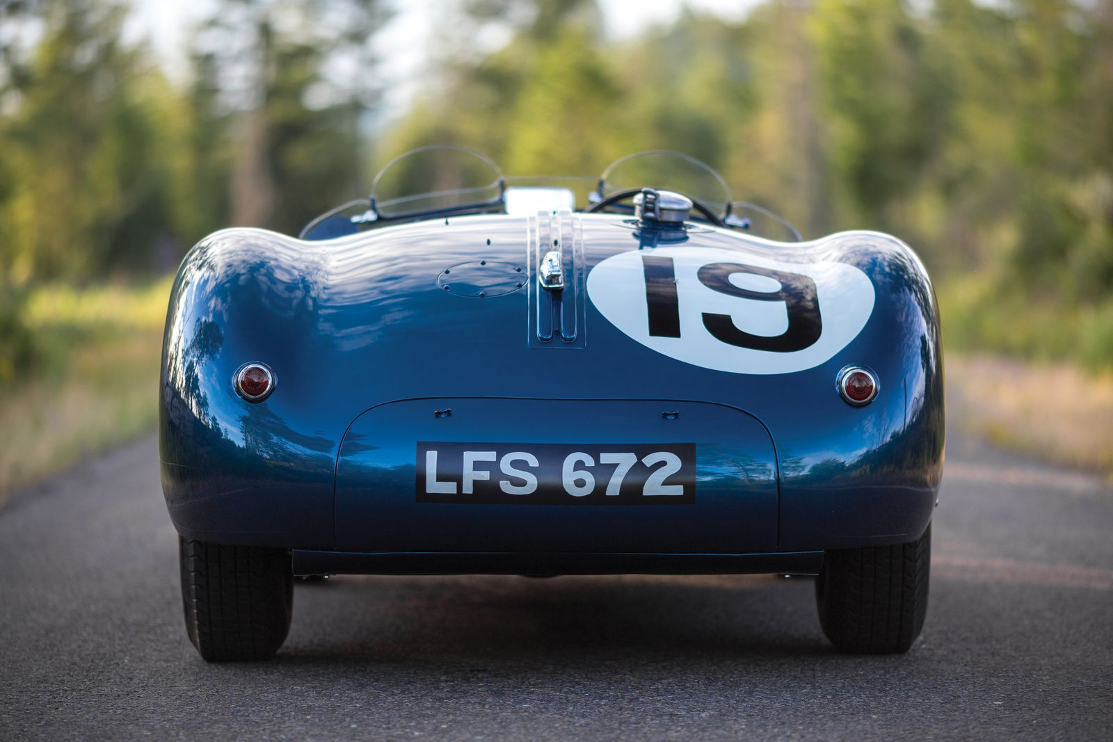 1953 Jaguar C-Type #25