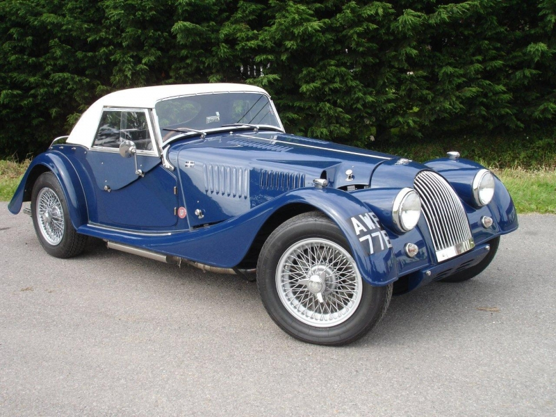 1953 Morgan Plus 4 #30