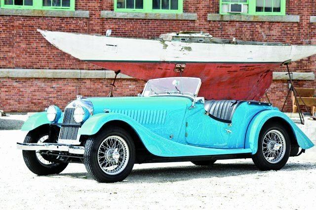 1953 Morgan Plus 4 #22