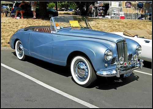 1953 Sunbeam Alpine #20