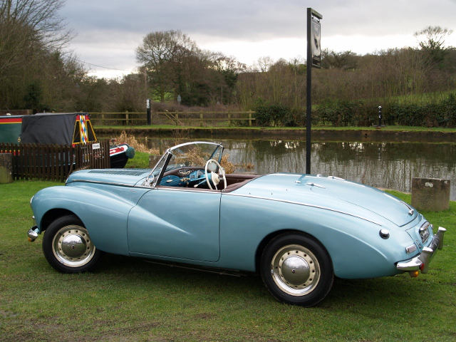 1953 Sunbeam Alpine #24