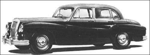 1955 Daimler One-O-Four #6
