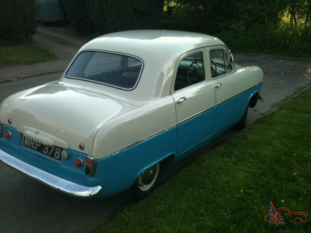 1955 ford consul photos informations articles. Black Bedroom Furniture Sets. Home Design Ideas